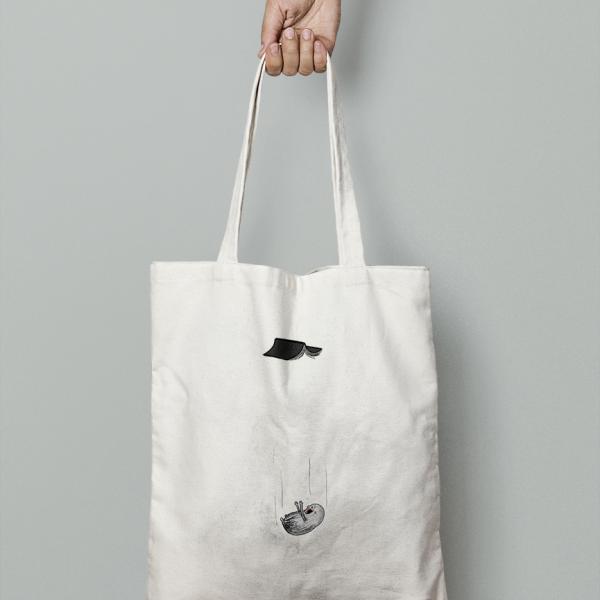 Tote Bag Double Project Colección Os - Cayendose del libro