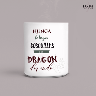 Taza eslogan Hogwarts | Double Project