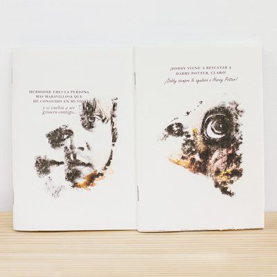 Libreta Grapada Ron o Dobby | Double Project