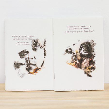 Libreta Grapada Ron o Dobby | Double Project