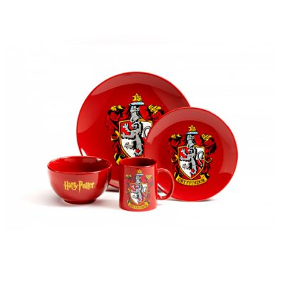 Set 4 piezas Gryffindor-double-project