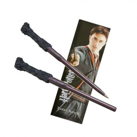 Bolígrafo varita y Punto de libro Harry Potter - Double Project