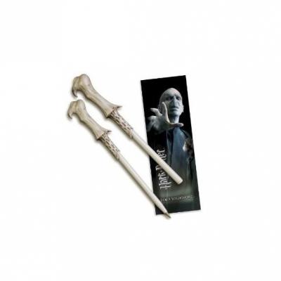 Bolígrafo y Punto de libro Voldemort - Double Project