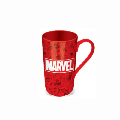 Taza Latte-Macchiato Marvel Logo | Double Project