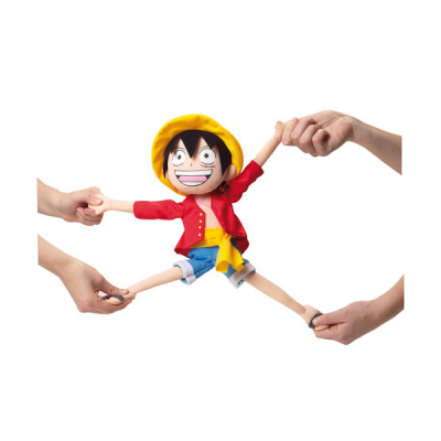 peluche elástico luffy double-project