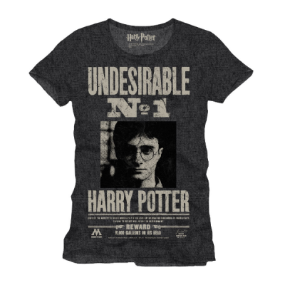 Camiseta Undesirable Harry Potter - Double Project