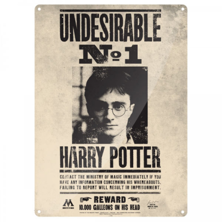placa-de-chapa-undesirable-harry-double-project