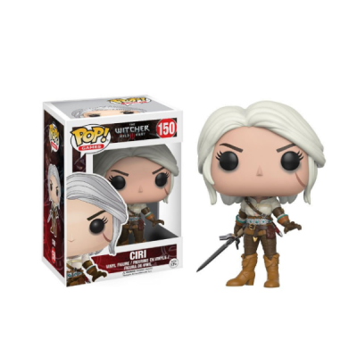 POP Ciri The Witcher - Double Project