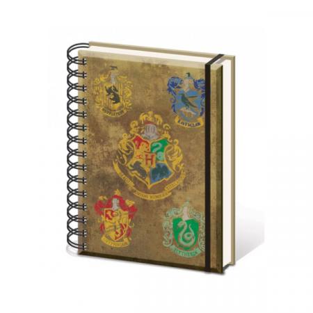 Libreta espiral Hogwarts - Double Project