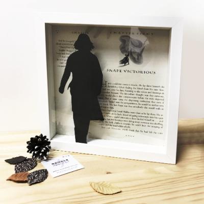 Cuadro Severus Snape - Double Project
