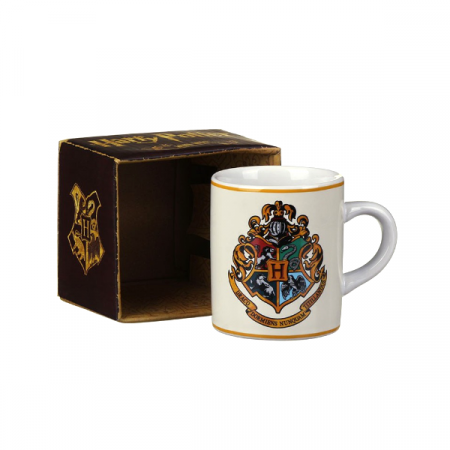 Mini taza Hogwarts escudo Harry Potter