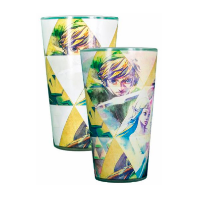 Vaso Legend of Zelda cambia color
