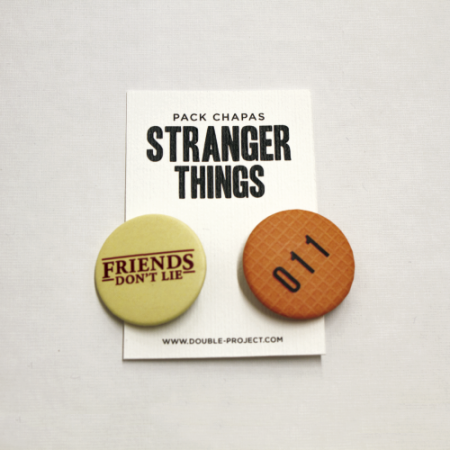 Pack Chapas Stranger Things - Double Project