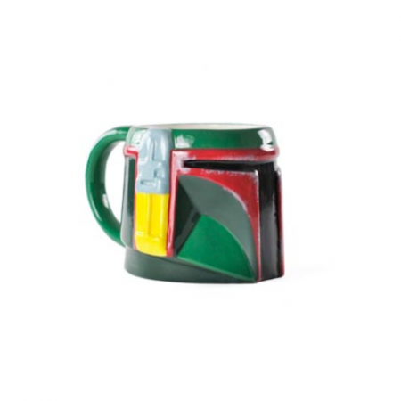 Taza Boba Fett Relieve Star Wars - Double Project