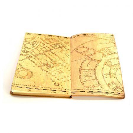 Cuaderno Diario Mapa del Merodeador - Double Project
