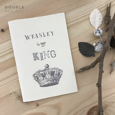 Libreta Weasley is our king - Double Project