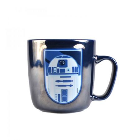 Taza efecto metálico R2D2 - Double Project