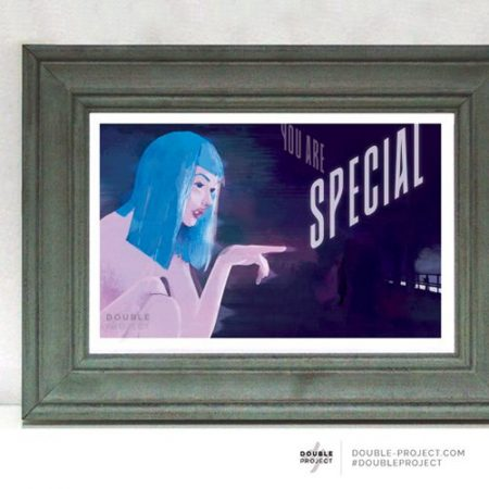 Lámina Blade Runner 2049 You're special - Double Project