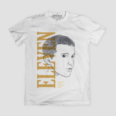 Camiseta Eleven She's our friend and she's crazy - Double Project
