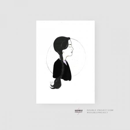 Lámina Miércoles Colección Halloween | Double Project
