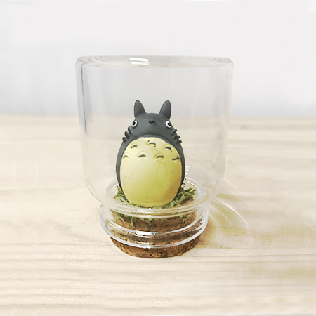 Montaje cristal Totoro de pie - Double Project