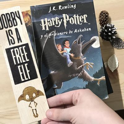 Punto de libro de madera Dobby - Double Project