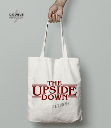 Tote Bag The Upside down returns - Double Project