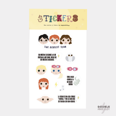 Pack Stickers Harry Potter - Double Project