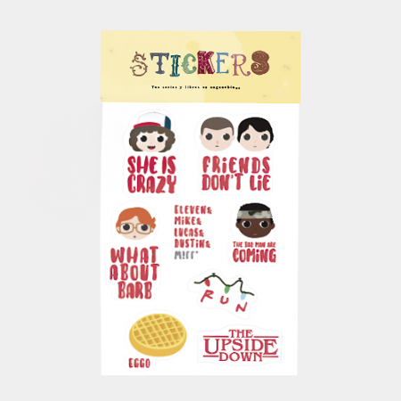Pack stickers Stranger Things - Double Project