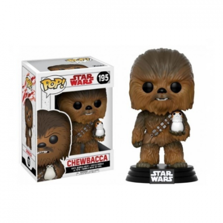 POP Chewbacca Los ultimos Jedi - Double Project