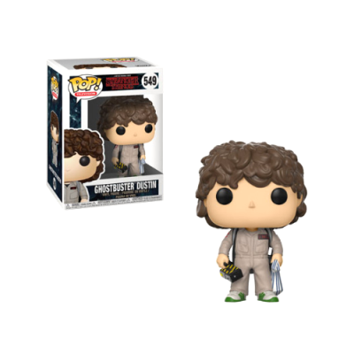 POP Dustin Ghostbuster Stranger Things - Double Project