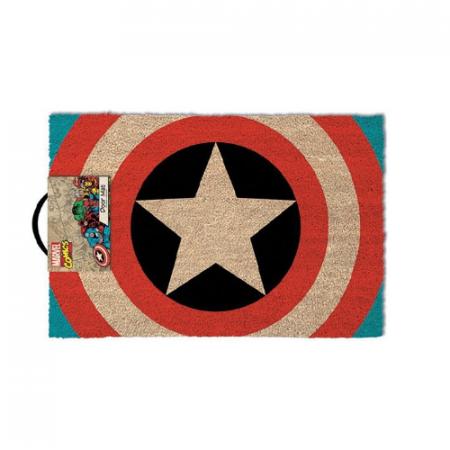 Felpudo Capitán America Marvel logo - Double Project