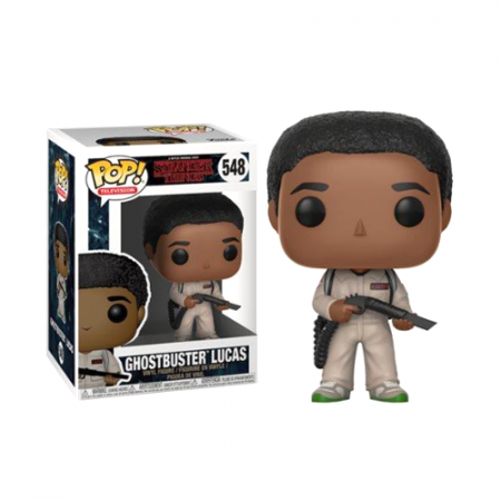 POP Lucas Ghostbuster Stranger Things - Double Project
