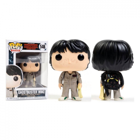 POP Mike Ghostbuster Stranger Things - Double Project