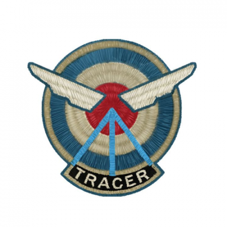 Parche Overwatch Tracer - Double Project