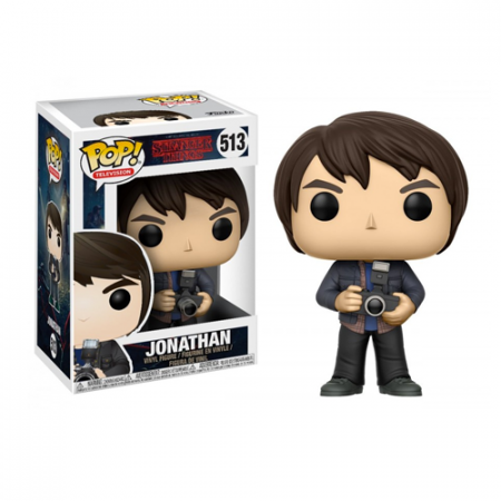 POP Jonathan Stranger Things - Double Project