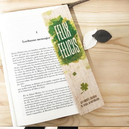 Punto de libro de madera Felix Felicis - Double Project