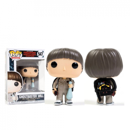 POP Will Ghostbuster Stranger Things - Double Project