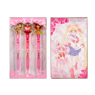 Sailor Moon Pack 3 Bolígrafos - Double Project