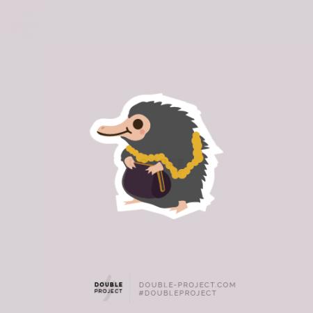 Sticker Escarbato Individual Fantastic Beasts - Double Project
