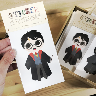 Sticker Harry Potter - Double Project