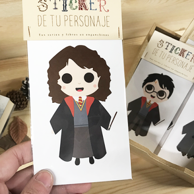 Sticker Hermione Granger - Double Project