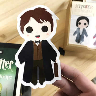 Sticker Newt Fantastic Beast - Double Project