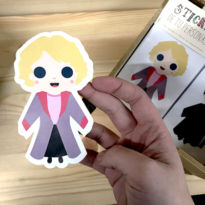 Sticker Queenie Fantastic Beasts - Double Project