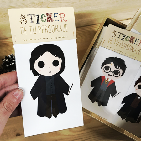 Sticker Individual Snape - Double Project