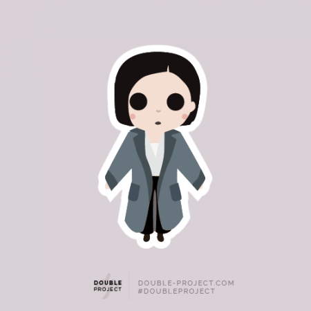 Sticker Tina Fantastic Beasts - Double Project