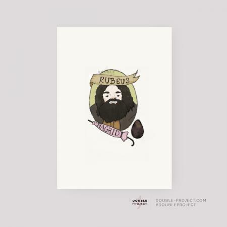 Lámina Rubeus Hagrid | Double Project