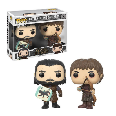 Pack POP Battle of the Bastards Jon Snow + Ramsay Bolton Juego de Tronos - Double Project
