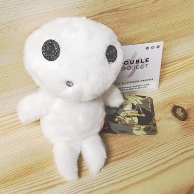 Peluche Kodama Ghibli - Double Project