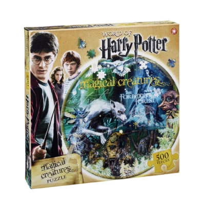 Puzzle Harry Potter Magical Creatures - Double Project